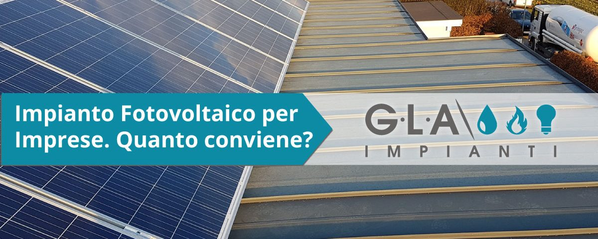 impianto fotovoltaico per imprese
